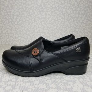 Keen Leather Slip-On Clogs